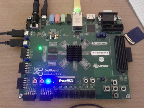 FreeBSD on Xilinx Zynq-7000 / Zybo / Zedboard